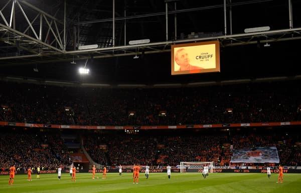 Le stade de l'Ajax va être renommé Johan-Cruijff Arena