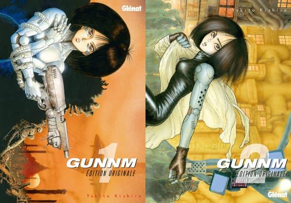 Couvertures du manga Gunnm