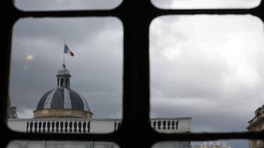 Une vue du dôme du Palais du Luxembourg où siège le Sénat, le 1er octobre 2020, à Paris.