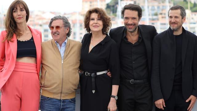 L'équipe de La Belle époque de Nicolas Bedos à Cannes