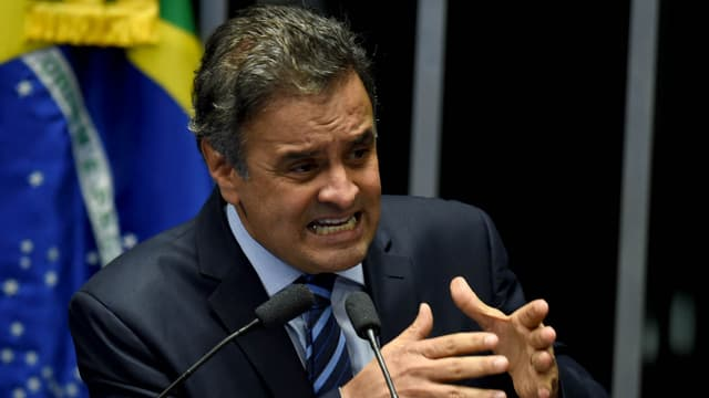 Aecio Neves, président du Parti social-démocrate brésilien, le 11 mai 2016.
