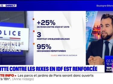 Ile-de-France: la lutte contre les rixes est renforcée
