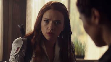 Scarlett Johansson dans la peau de Black Widow