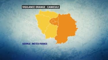 Paris, la petite couronne et la Seine-et-Marne sont en vigilance orange canicule.