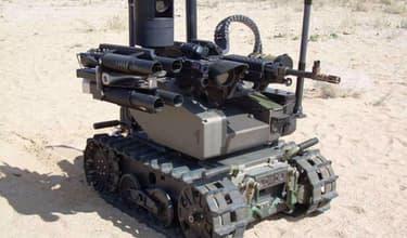 Le robot Maars de Qinetiq.