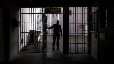 À la prison de Bourg-en-Bresse, en novembre 2018 (PHOTO D'ILLUSTRATION).