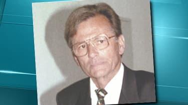 Portrait non daté de Dieter Krombach.