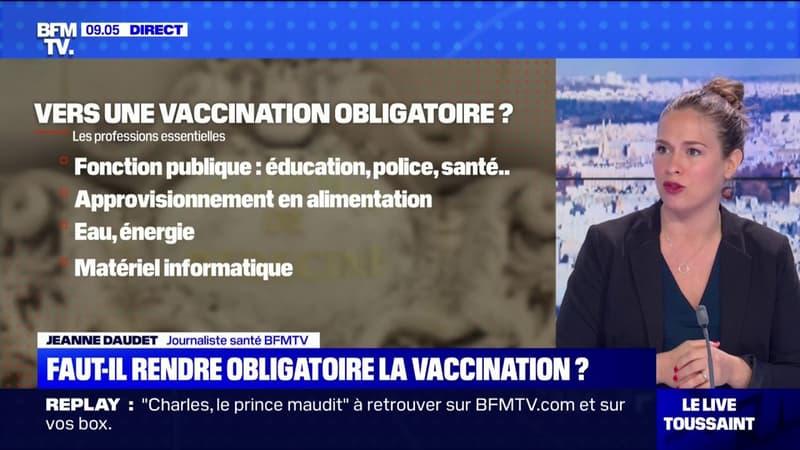 L'Académie de médecine recommande de rendre la vaccination contre le Covid-19 obligatoire