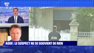 Agde : le suspect ne se souvient de rien - 16/10