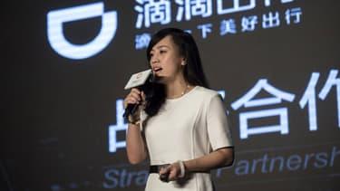 Jean Liu, la présidente de Didi Chuxing