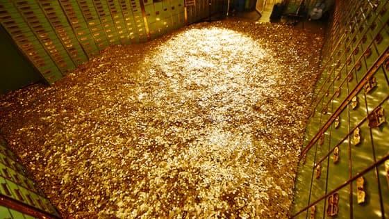 Un coffre-fort contenant 8 millions de pièces est à vendre.