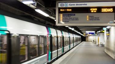 Une rame du RER B