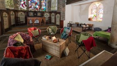 12 églises en Angleterre proposent des logements.