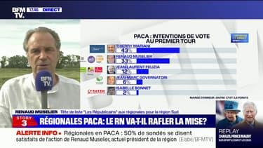 """Renaud Muselier: """"La région Provence-Alpes-Côte-d'Azur ne sera pas le marchepied de Madame Le Pen"""""""