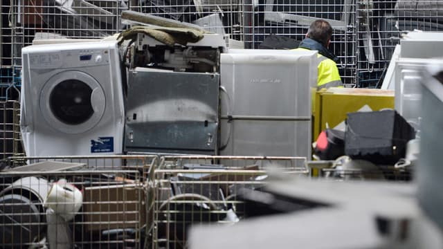 666.000 tonnes de déchets électroniques ont été collectés en France en 2016. (image d'illustration)