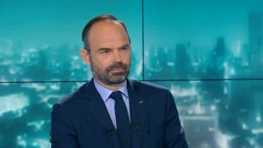 Le Premier ministre Edouard Philippe, le 6 mars 2019 sur BFMTV.