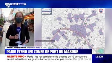 L'obligation de port du masque à Paris est étendue à de nouveaux quartiers