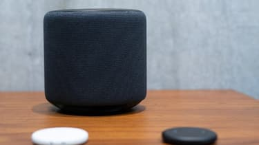 Une enceinte intelligente Amazon - Image d'illustration