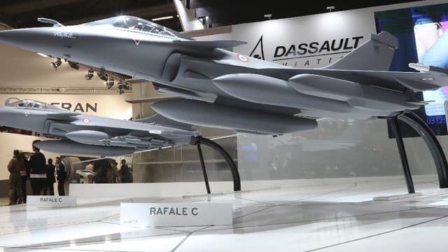Le chiffre d'affaires de Dassault Aviation s'établit à 3,58 milliards d'euros en 2016. (image d'illustration)