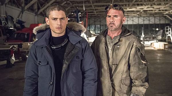 "Wentworth Miller et Dominic Purcell se retrouvent dans ""DC: Legends of Tomorrow"""
