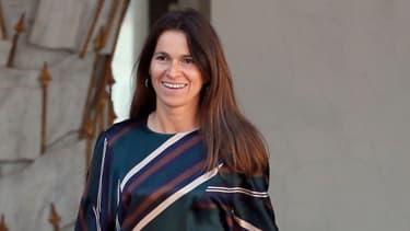 La ministre de la Culture et de la Communication, Aurélie Filippetti, à la sortie d'un Conseil des ministres à l'Elysée