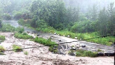 A Saint-Jospeh, à La Réunion, le vent a soufflé très fort comme partout ailleurs sur l'île