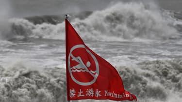 Interdiction de baignade à Taïwan