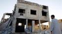 Une caserne détruite à Azaz, à une cinquantaine de kilomètres au nord d'Alep. L'Assemblée générale des Nations unies a adopté vendredi une résolution appelant à une transition politique en Syrie et condamnant l'inaction du Conseil de sécurité sur le dossi