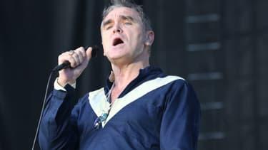Morrissey sur scène en juin 2015