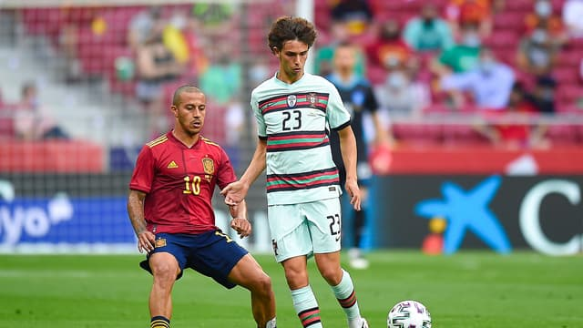 Joao Felix avec le Portugal contre l'Espagne