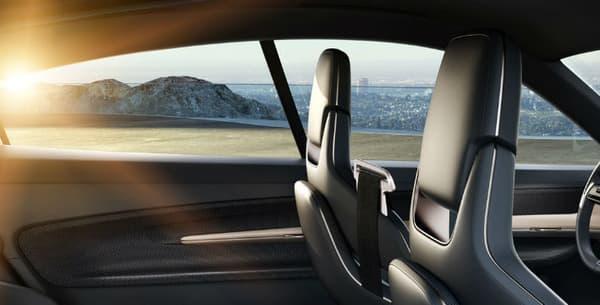 L'intérieur du concept Porsche Mission E.