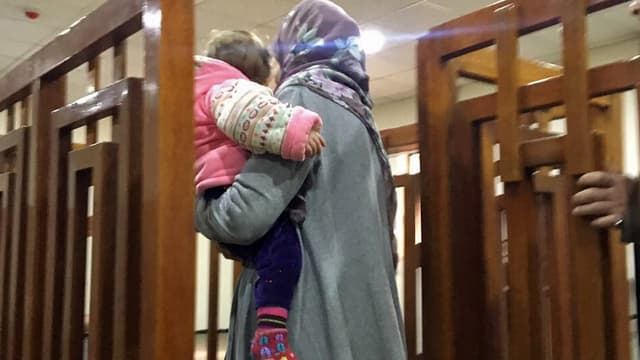 Mélina Boughedir a redit sa volonté de retrouver ses enfants, rapatriés en France.