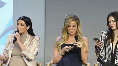 Les soeurs Kardashian-Jenner