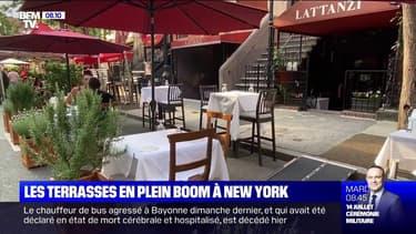 Les terrasses sont en plein boom à New York