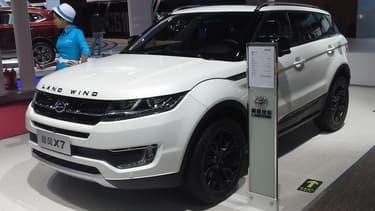 Jaguar Land Rover ne compte pas laisser impunément la marque Land Wind continuer à vendre son SUV X7 en Chine,