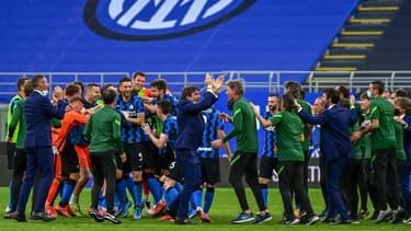 La fête de l'Inter Milan
