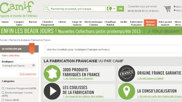 Le fabriqué en France et le developpement durable sont deux des atouts sur lesquels mise la Camif.