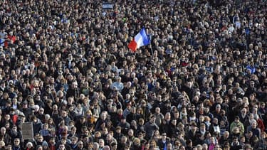 Plus de deux millions de personnes ont défilé à Paris lors de la marche républicaine.
