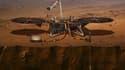 La sonde Insight s'envole vers Mars.