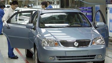 Volkswagen a ouvert cinq nouvelles usines en Chine en 2013.