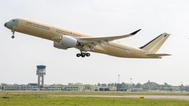 L'A350-900 ULR a effectué son premier vol d'essai ce lundi.