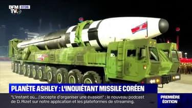 Lors d'un défilé militaire, la Corée du Nord dévoile un immense missile