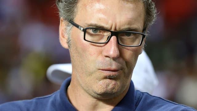 Laurent Blanc toujours en quête de sa première victoire avec le PSG.