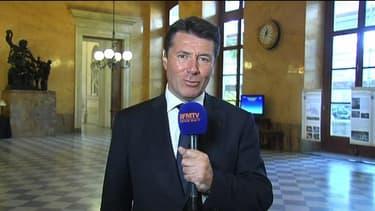 Christian Estrosi, le député-maire de Nice, sur BFMTV depuis l'Assemblée nationale le 9 juillet 2013.