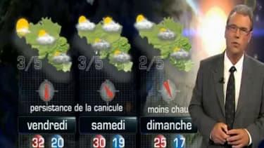 Le présentateur météo belge, Luc Trullemans.