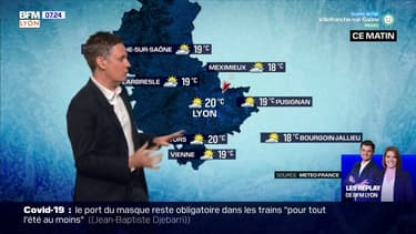 La météo pour la région lyonnaise ce dimanche 25 juillet