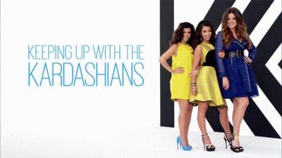 Kourtney, Kim et Khloe dans le générique de Keeping up with the Kardashians