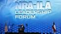 Donald Trump au sommet de la NRA
