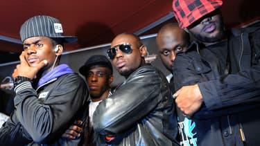 Le groupe Sexion d'Assaut en octobre 2010