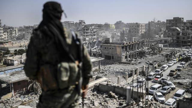 La ville de Raqqa libérée de Daesh le 20 octobre 2017. Photo d'illustration